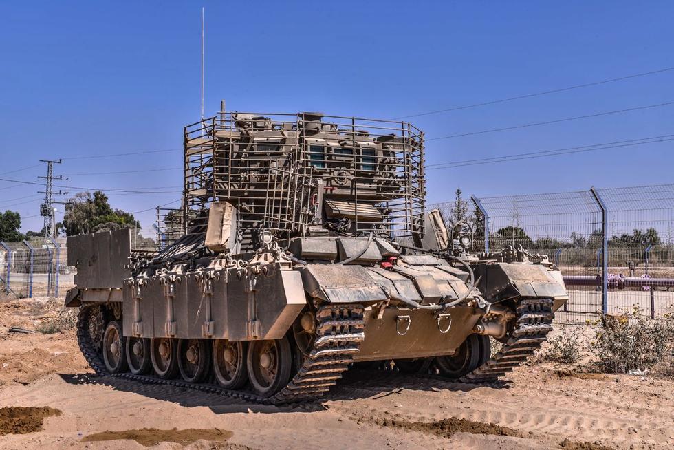以色列军将装甲防护战车亮相[1]- 中国日报网