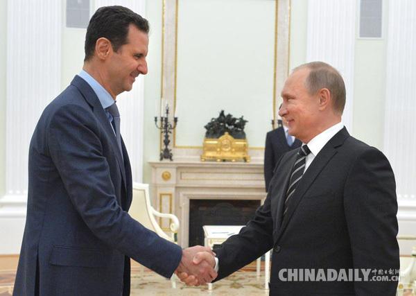 阿萨德:若俄罗斯企业帮助叙利亚战后重建,愿考虑下台 - 中文国际 - 中国日报网