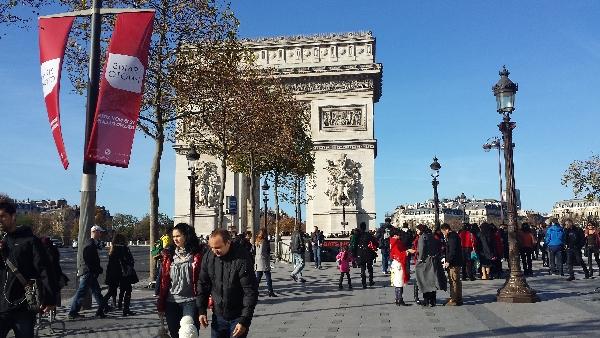 2015巴黎中国游客人数首次破百万