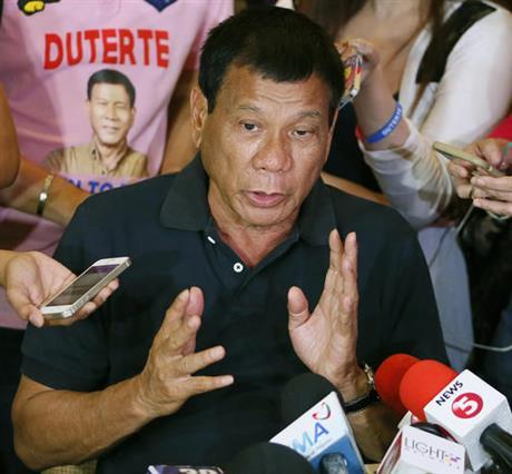 菲律宾新总统再次语出惊人 敦促民众杀死拒捕毒贩 - 中国日报网