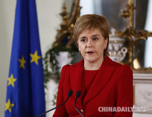 脱欧效应:苏格兰欲再次举行独立公投 伦敦民众要求脱英 - 中国日报网