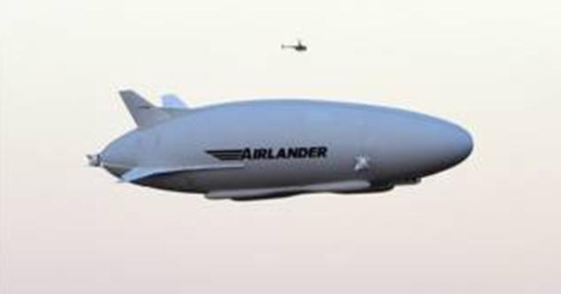 世界最大飞行器首次试飞成功 全长93米英国制造 - 中国日报网