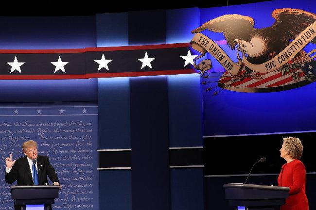 希拉里特朗普首场辩论 9大亮点一览 - 中国日报网