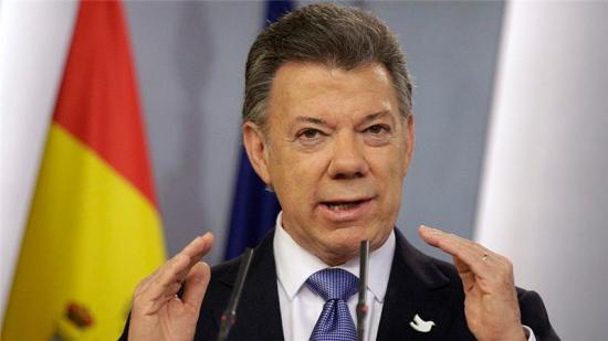 哥伦比亚总统桑托斯获得2016诺贝尔和平奖 - 中国日报网