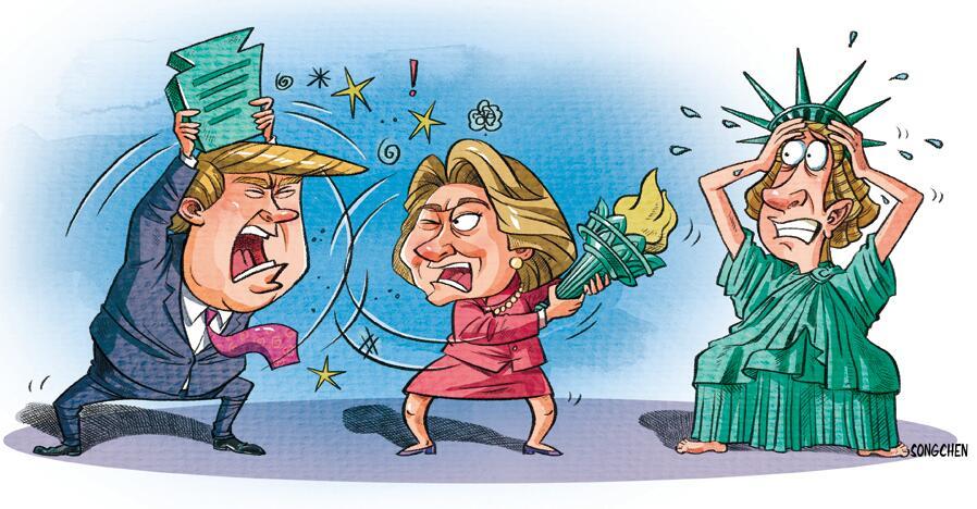 10张漫画带你看美国大选[1]- 中国日报网