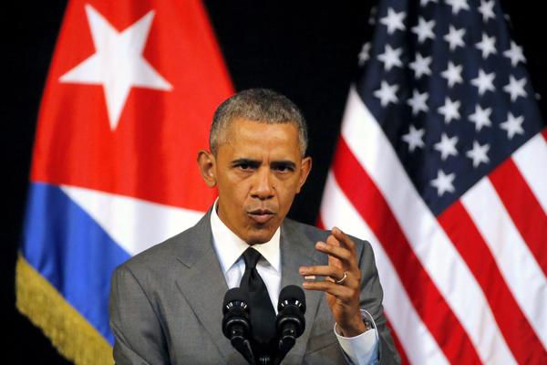 奥巴马:美国将继续向古巴伸出友谊之手的意愿不会改变 - 中国日报网