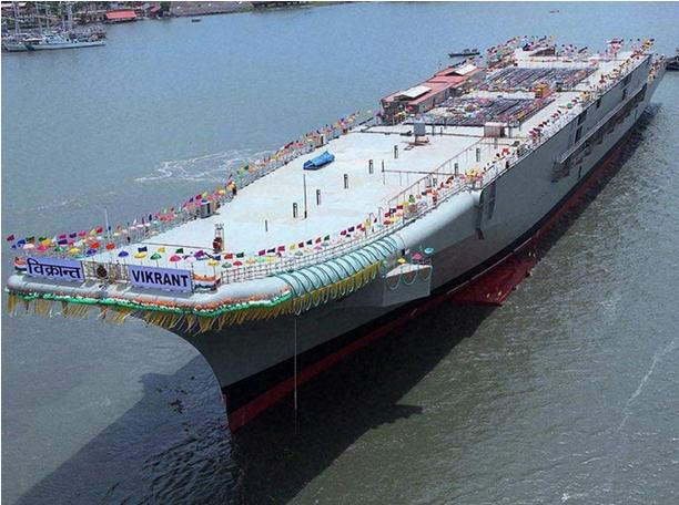 """印度首艘国产航母质量太差 """"吓""""坏美方视察工程师 - 中国日报网"""