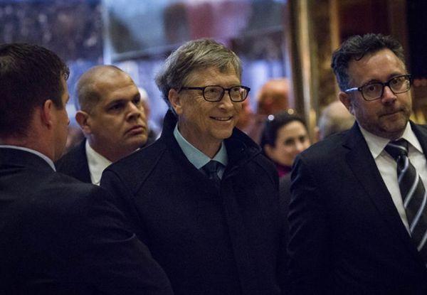 比尔·盖茨:若特朗普行事正确 有望成为第二个肯尼迪 - 中国日报网