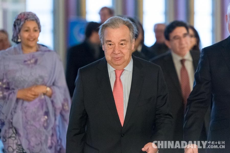 新任联合国秘书长古特雷斯开始首日工作[1]- 中国日报网
