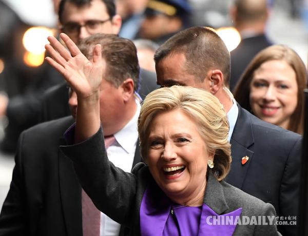 卷土重来?希拉里或将竞选纽约市长 - 中国日报网