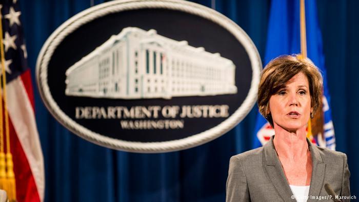 两高官遭特朗普解职 华盛顿州状告新总统 - 中国日报网