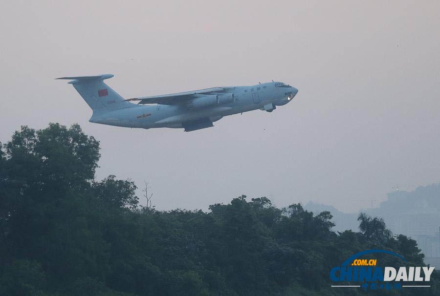 中国空军两架伊尔-76运输机飞赴澳大利亚展开搜救