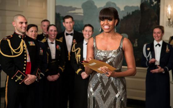 奥斯卡 米歇尔/美国第一夫人米歇尔·奥巴马宣布奥斯卡最佳影片得主