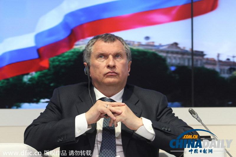 伊戈尔·谢钦(igor sechin),俄罗斯国有石油公司rosneft的ceo.