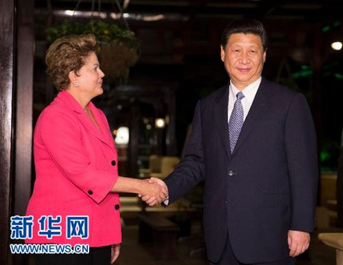 xi主席出国保镖视频_巴西总统邀习近平亲临观看世界杯决赛 - 中文国际 - 中国日报网