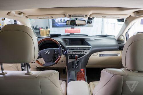 谷歌邀记者体验无人驾驶汽车 未来司机职业或消失高清图片