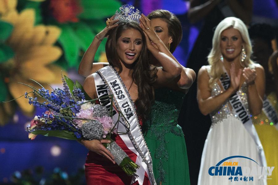 2014年美国小姐选美大赛冠军诞生