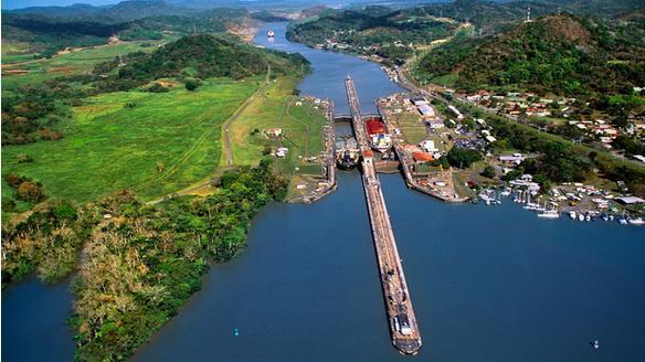 巴拿马运河扩建 中国吃补