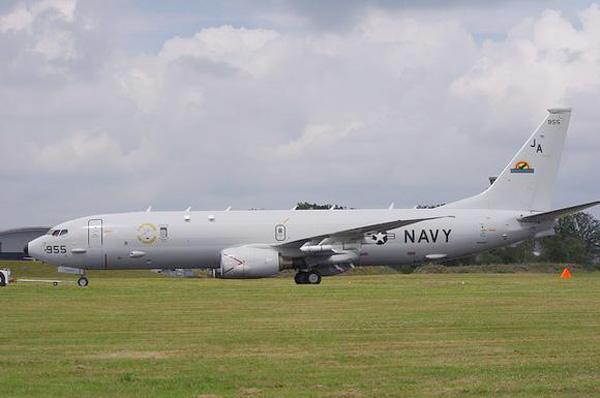 """美国波音p-8""""波塞冬""""海上反潜巡逻机"""