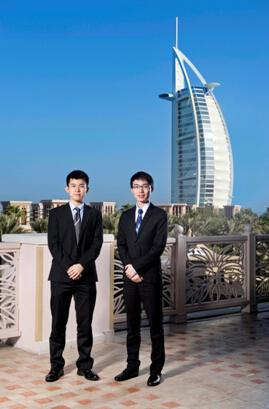 中国实习生在迪拜顶尖公司开始实习工作