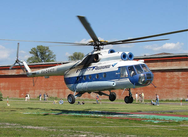 硬着陆软着陆_俄一架米-8直升机硬着陆致2人死亡