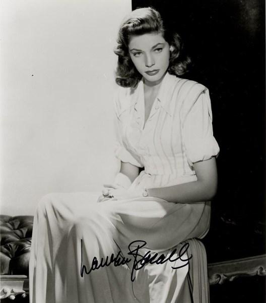 那些 逝去/劳伦·白考尔(Lauren Bacall),90岁,好莱坞曾经的银幕女神。