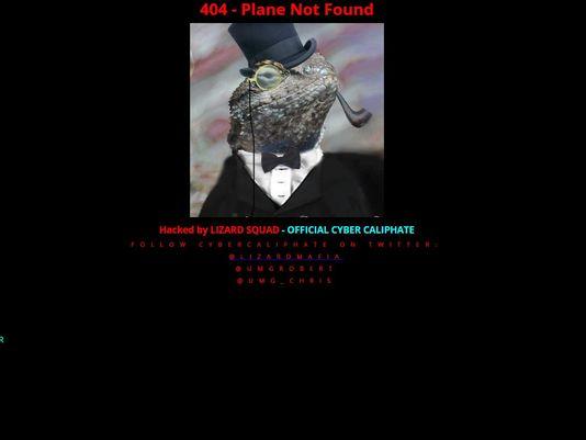 马航官网被黑现蜥蜴图像 黑客疑与 伊斯兰国 有关