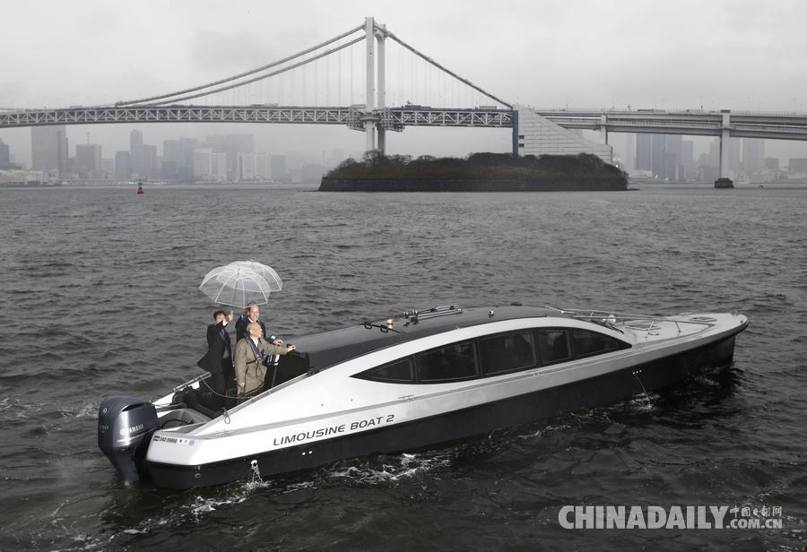 威廉王子访日本 品茶乘船游览美景[3]- 中国日报网