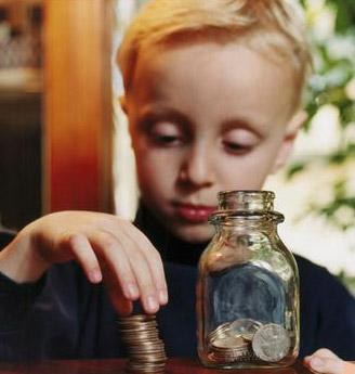 高中生试水股市引思考 如何给孩子零用钱更有益?