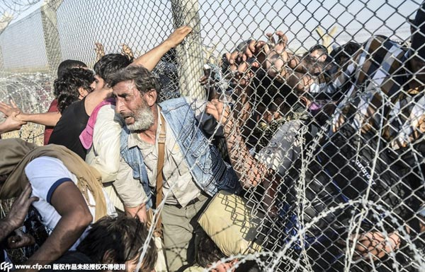 全球难民危机一年内加深 人数创新高处境更艰