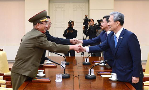 朝韩高级别对话重启 韩媒称朝7成潜艇离港去向难测