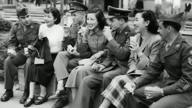 二战期间嫁入美国的日本女人:充满隔阂
