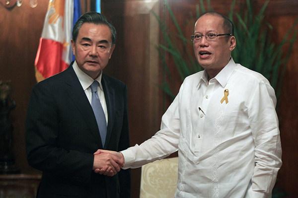 王毅谈访问菲律宾有关情况