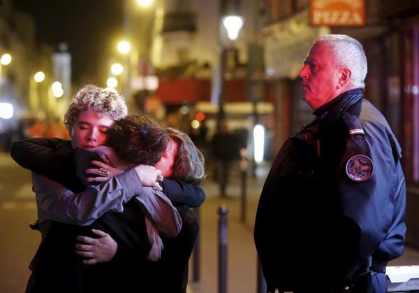 巴黎/巴黎恐怖袭击现场。(图片:路透社)