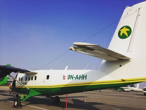 尼泊尔客机起飞后失踪