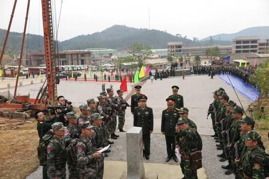 常万全出席中越两军第三次边境高层会晤
