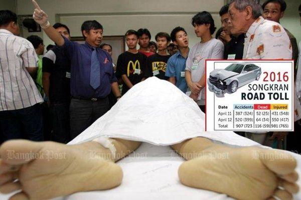 泰国惩罚酒驾出奇招 去太平间工作48小时