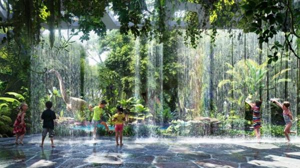 迪拜斥资2亿3千万英镑 打造世界首个豪华雨林酒店