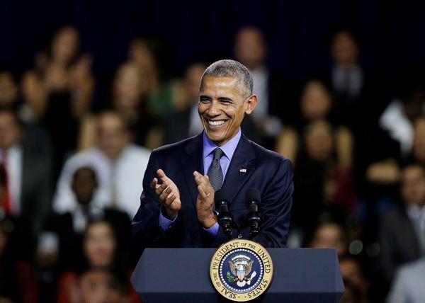 竞选都是说一套做一套?奥巴马暗示特朗普或不会撕毁贸易协议