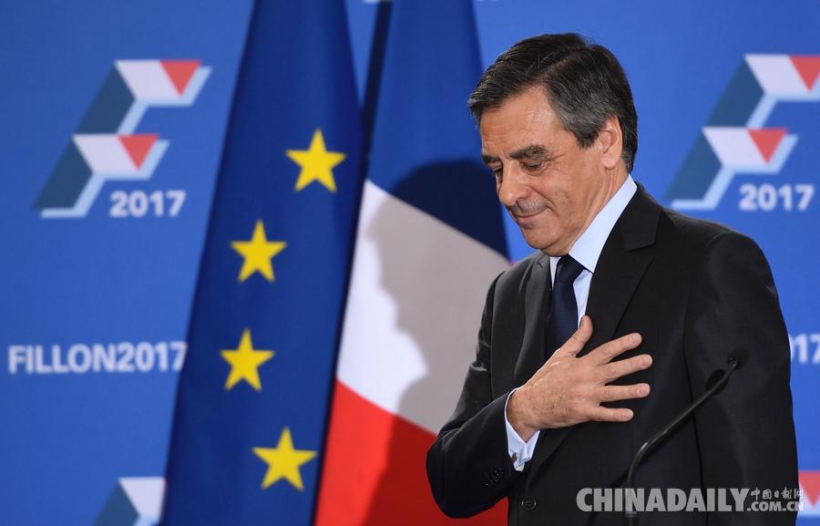 法国前总理菲永赢得党内初选 成为共和国人党总统候选人