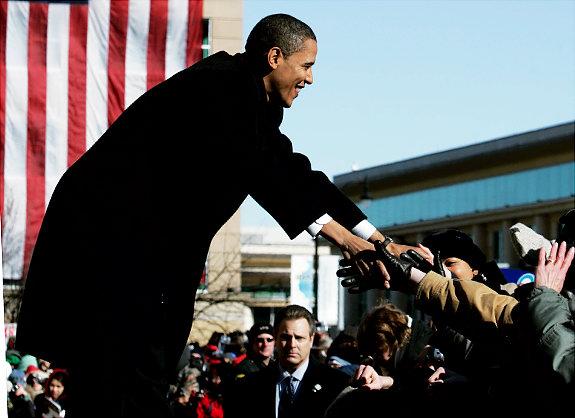 从芝加哥到华盛顿:奥巴马的权力之路