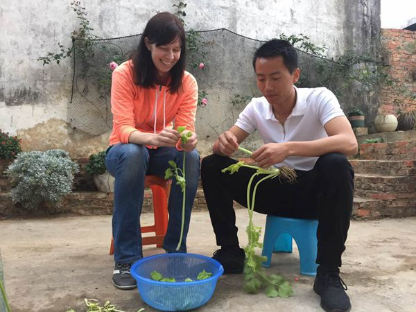 洋媳妇感受别样中国年:在平淡中活出幸福