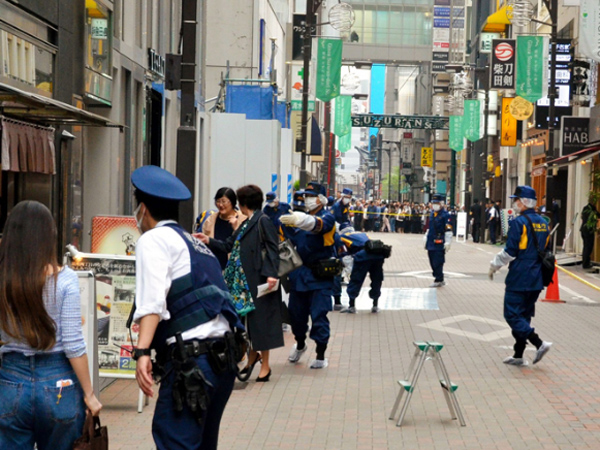 日本街头连发抢劫案  其中一案已列为全国第四大抢劫案