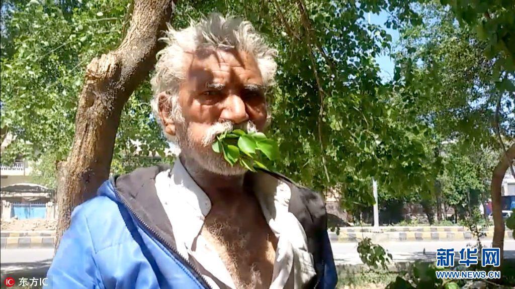 """巴基斯坦男子""""挑食"""" 持续25年吃树叶树枝(组图)"""