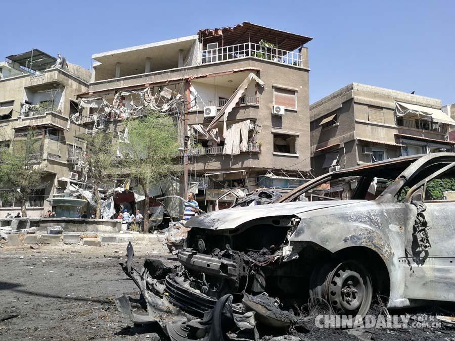 叙利亚大马士革发生汽车炸弹袭击 致20人死亡