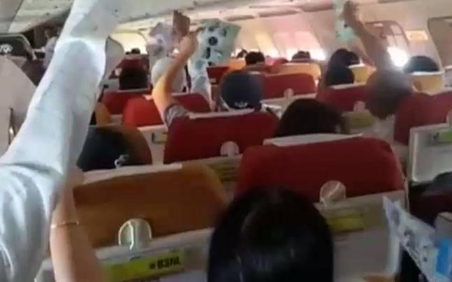 印航飞机空调出故障 2小时飞行乘客呼吸困难