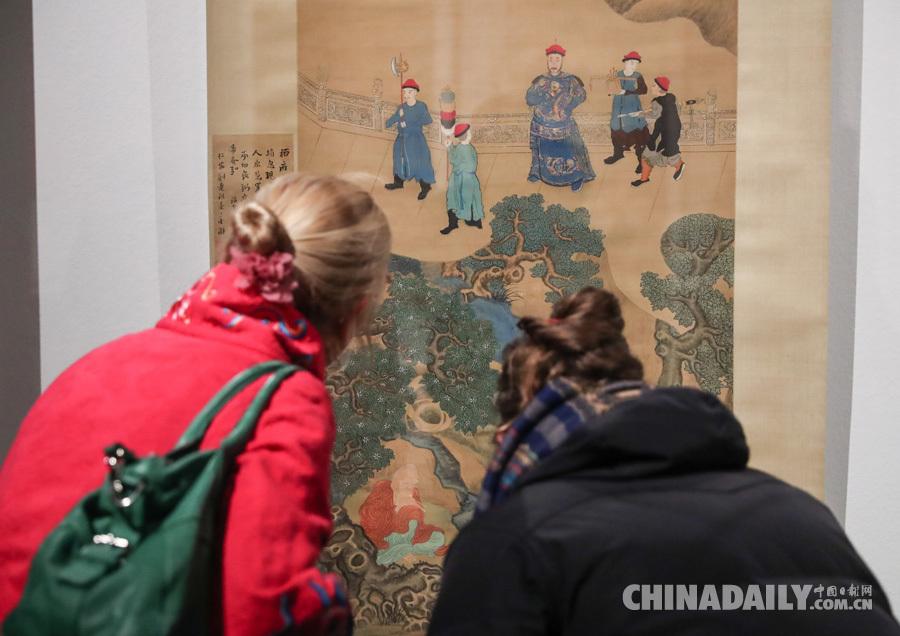 中国明清肖像画展在德国柏林开幕