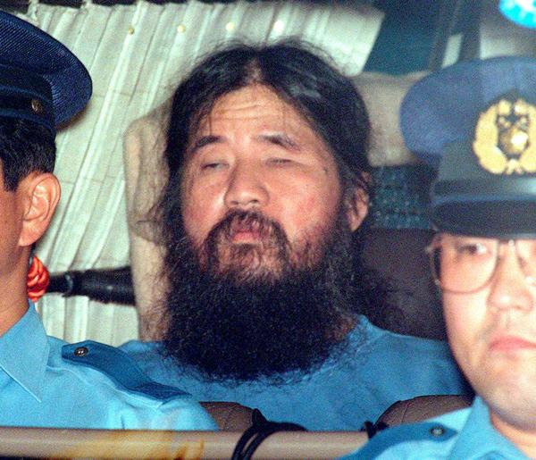 刚冰淇淋促销词刚,奥姆真理教教主麻原彰晃被执行死刑
