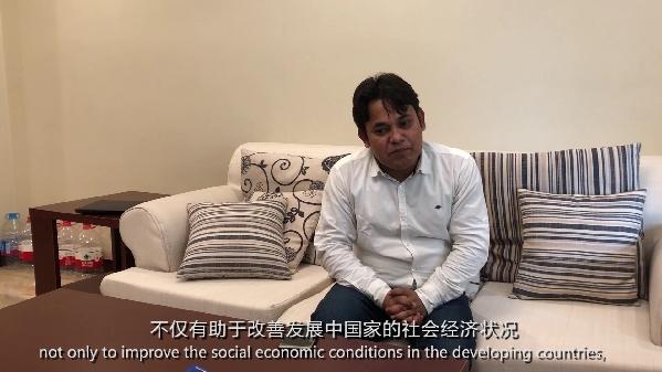 """【""""一带一路""""国家记者看中国】孟加拉国记者:这一倡议深得民心 各国积极响应"""