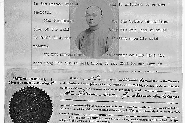 """你知道吗?美国""""出生公民权""""是一位华人100多年前奋力争取得来!"""